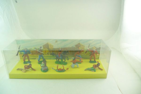 """Indian assortment"", No. 00343, 10 figures - in original blister box"