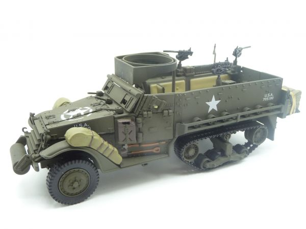Halftrack vehicle 21st Century, suitable for 1:32 - scope of delivery see photos