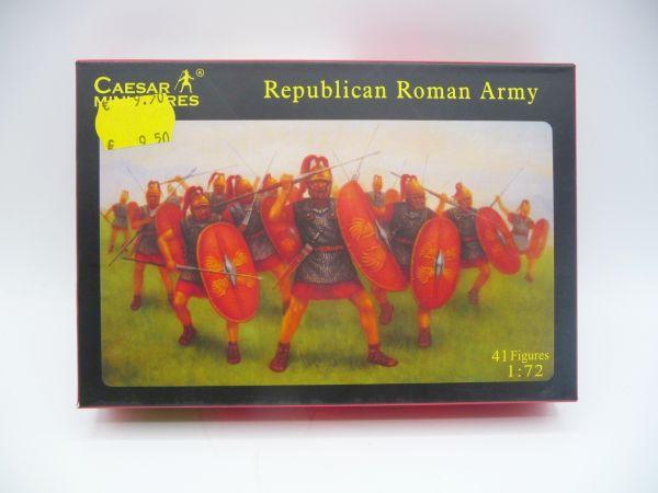 Caesar Miniatures 1:72 Republican Roman Army, History 045 - OVP, Figuren lose, komplett