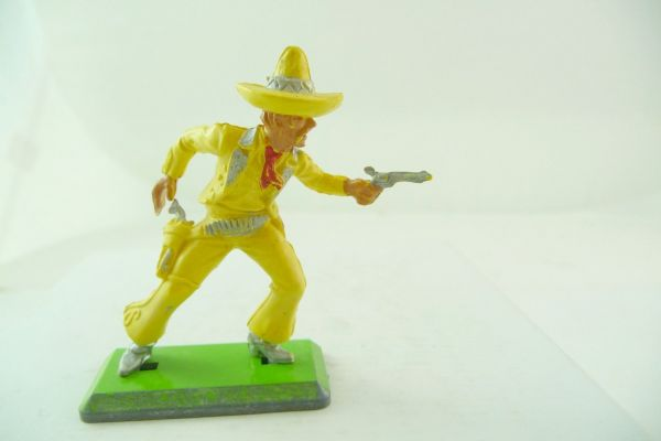 Britains Deetail Mexican going ahead, firing with pistol - rare Gelb