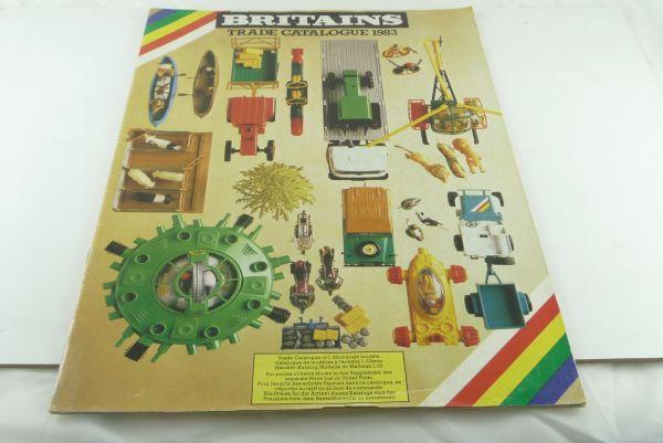 Britains Händlerkatalog, bunt, Din A4, 23 Seiten 1983