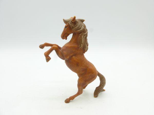 Elastolin Weichplastik Pferd, aufgebäumt - selten