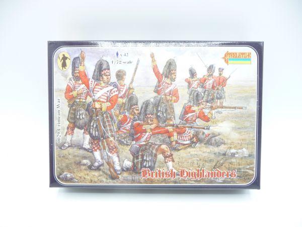 Strelets*R 1:72 Crimean British Highlanders, Nr. 0029 - OVP, Figuren am Guss