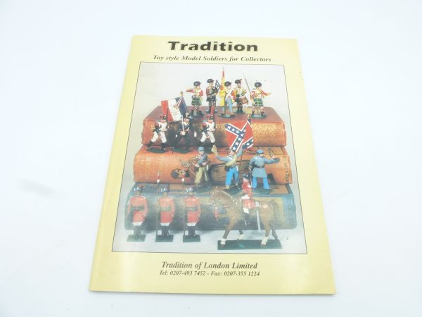 Tradition, Toy style Model Soldiers for Collectors v. 2003