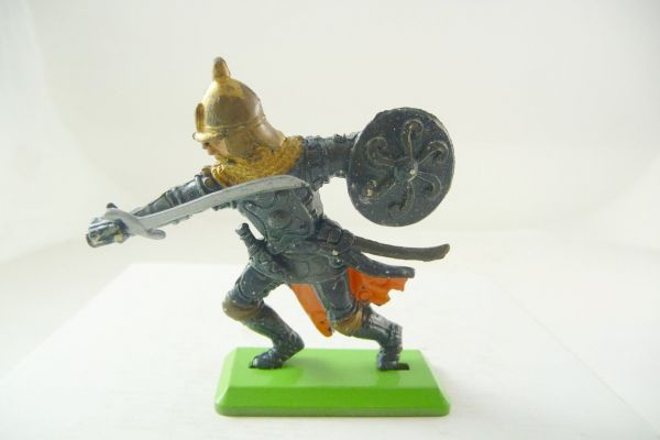 Britains Deetail Saracen defending with sword - brand new
