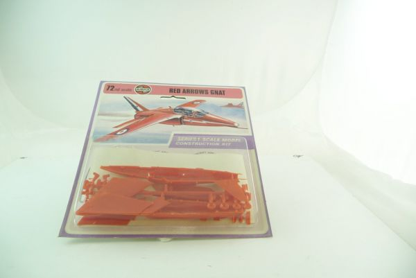 Airfix 1:72 RED ARROW GNAT, Series 1 Model Construction Kit - OVP