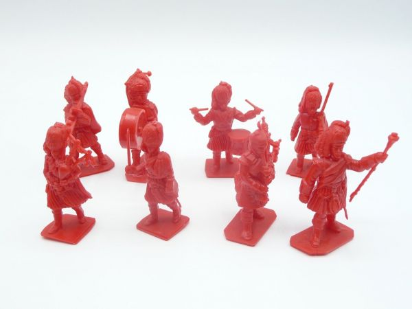 Action figures (similar to Timpo Toys), 8 x Guards Band