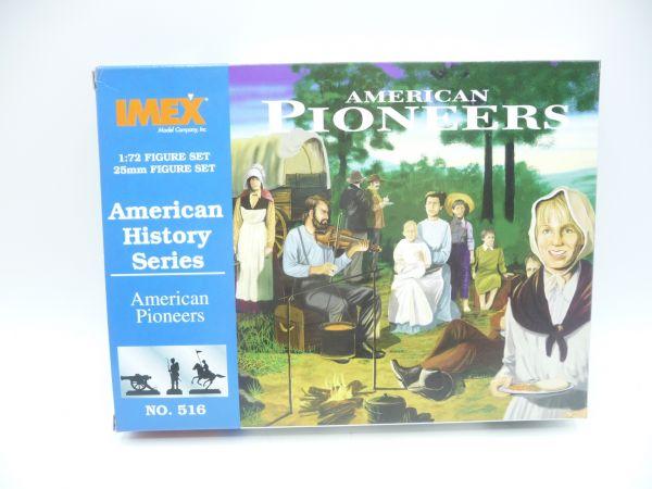 IMEX 1:72 American History: American Pioneers, Nr. 516 - OVP, Figuren am Guss