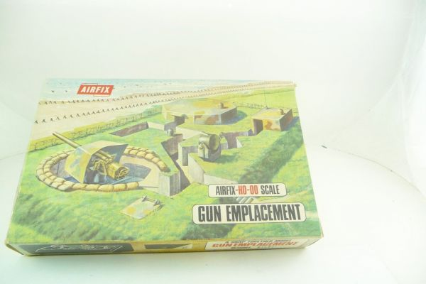 Airfix 1:72 Gun Emplacement, Snap Together, Nr. 1707-198 - OVP