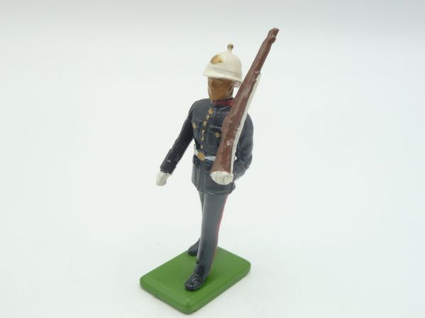 Britains Deetail (Metal) Music Corps, soldier, rifle shouldered