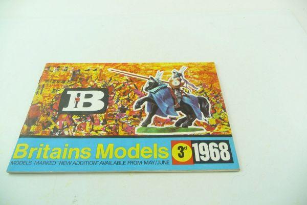 Britains Katalog 1968, 31-seitiger bunt bebilderter Katalog - sehr guter Zustand