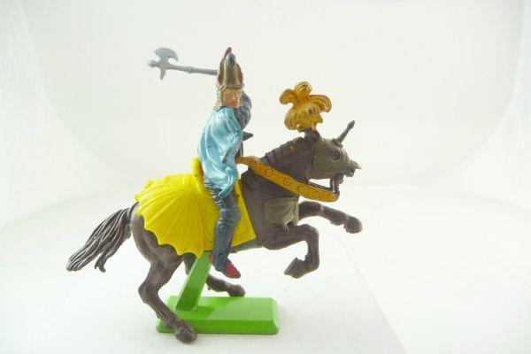 Britains Deetail Saracen on horseback lunging with battleaxe