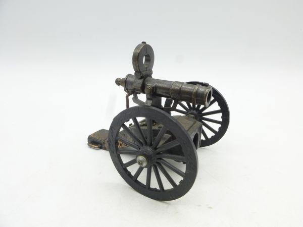 PlayMe Gatling Gun aus Metall (Räder Kunststoff), Länge 8,5 cm