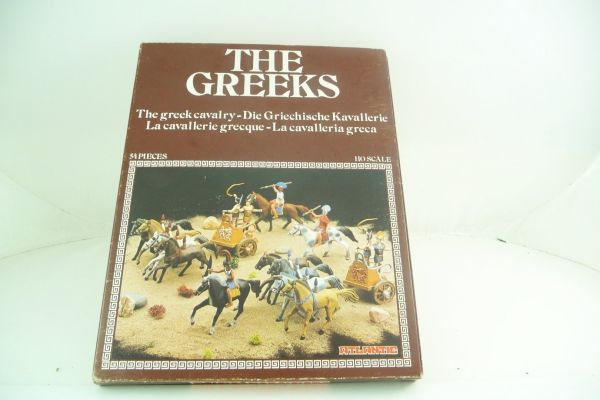 Atlantic 1:72 The Greeks; The Greek Cavalry - 54 Teile lose, s. Fotos