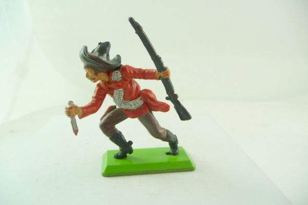 Britains Deetail Mexican going ahead with knife + rifle, red/brown-black