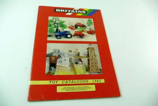 Britains 1987, customer's catalogue - 24 coloured pages
