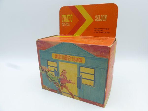 Timpo Toys Golden Nugget Saloon, Ref. Nr. 216, blau/türkis