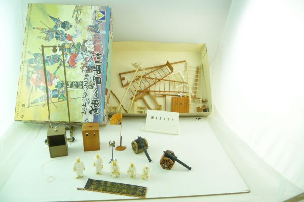 Aoshima 1:35 Japanese figures - content probably doesn't belong to the box