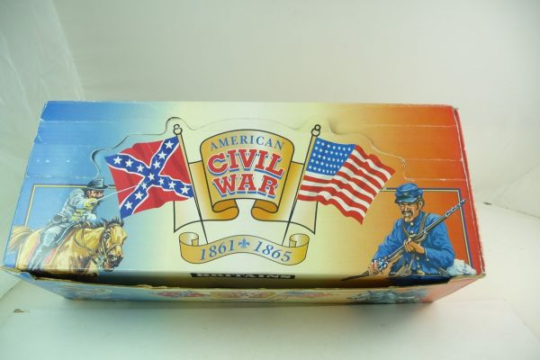 Britains American Civil War Counterpack with Confederate Army soldiers (Infantry)