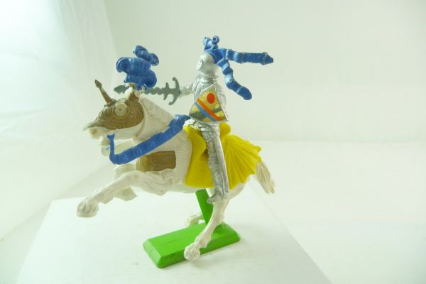 Britains Deetail Knight riding with sword + shield