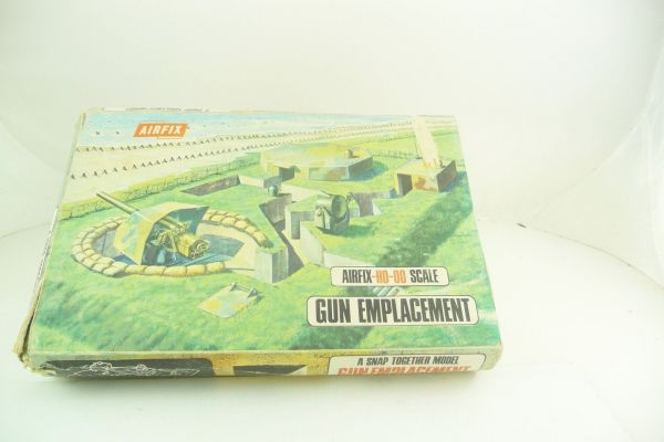 Airfix 1:72 Gun Emplacement, Snap Together, No. 1707-198 - orig. packaging