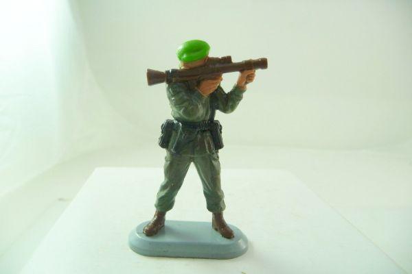 Britains Deetail Marine Kommandos; Soldat mit Panzerfaust