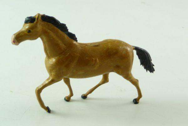 Starlux Pferd galoppierend Nr. 2548 in seltenem braun - guter Zustand