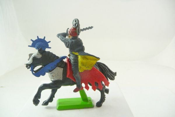 Britains Deetail Saracen on horseback lunging with sword