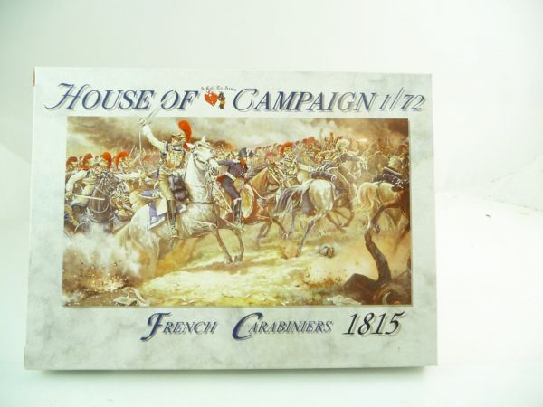 1:72 A Call to Arms House of Campaign, French Carabiniers 1815 - orig. packaging, unopened