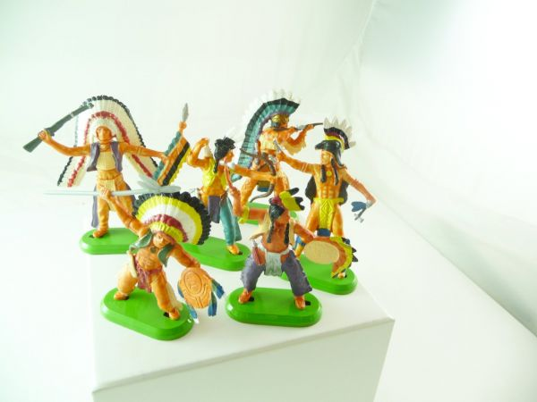 Britains Deetail 6 different Indians (made in China)