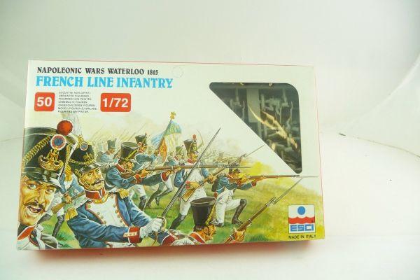 Esci 1:72 Nap. Wars Waterloo 1815, French Line Infantry, Nr. 227 - OVP