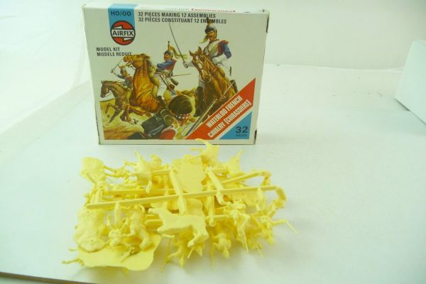 Airfix 1:72 Waterloo French Cavalry S 36 - orig. packaging, figures brand new + on cast