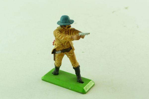 Britains Deetail Cowboy beidhändig Pistole haltend, mit Melonenhut