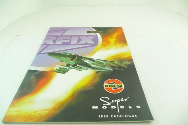 Airfix Catalogue Super Models 1998, 47 pages, DIN A4 + price list + supplementary sheet