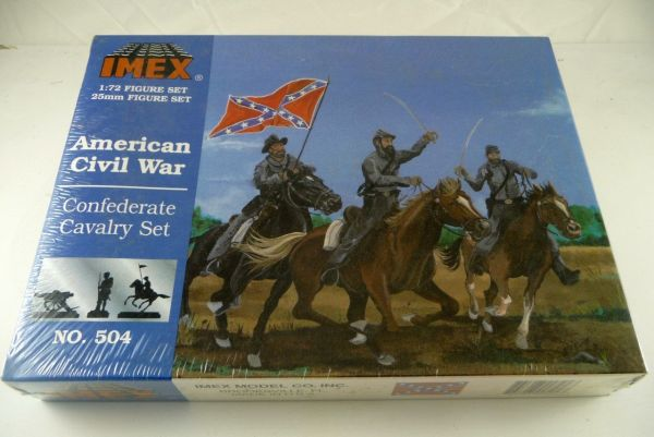 Imex Südstaaten Kavallerie American Civil War Set Nr. 504, OVP