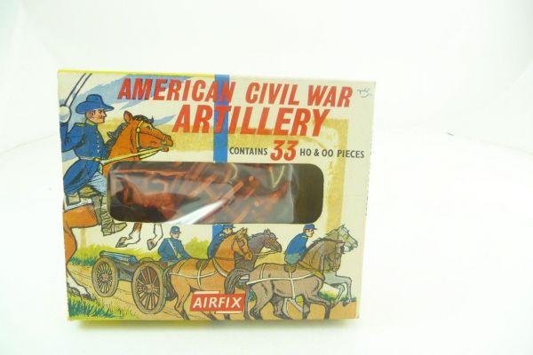 Airfix 1:72 American Civil War Artillery - Altbox, Figuren lose, komplett