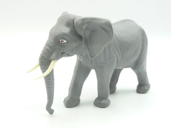 Britains African elephant, walking