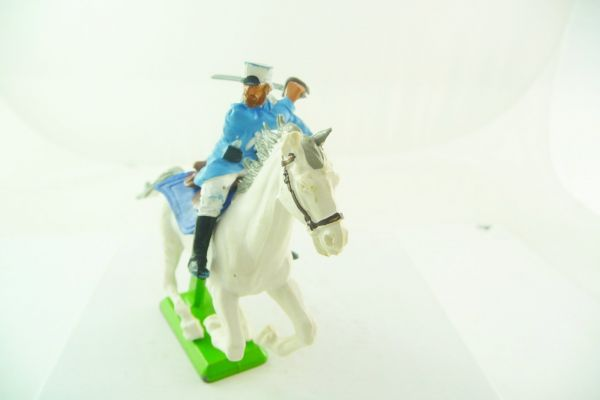 Britains Deetail Foreign legion: soldier riding lunging with sabre