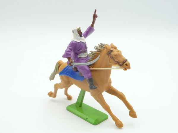 Britains Deetail Arab riding with scimitar, hand raised