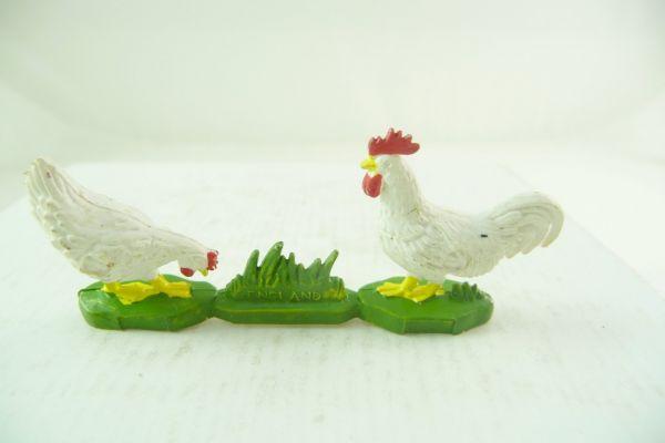 Britains 2 Hühner, weiß
