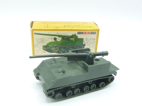 Airfix H0-00 Scale 155 mm Self-Propelled Gun, No. 1654 - orig. packaging