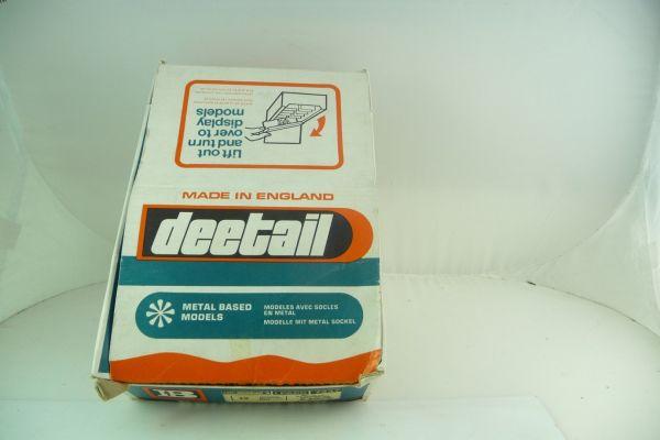 Britains Deetail Schüttbox für Minidiorama Japaner, inkl. 1 Geschützstellung
