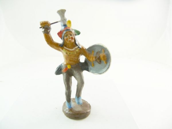 Bayer Indian dancing with tomahawk - very good condition