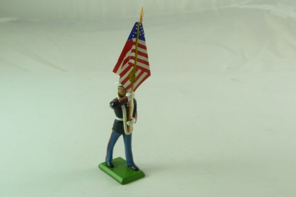 Britains US Marine Corps, standard bearer