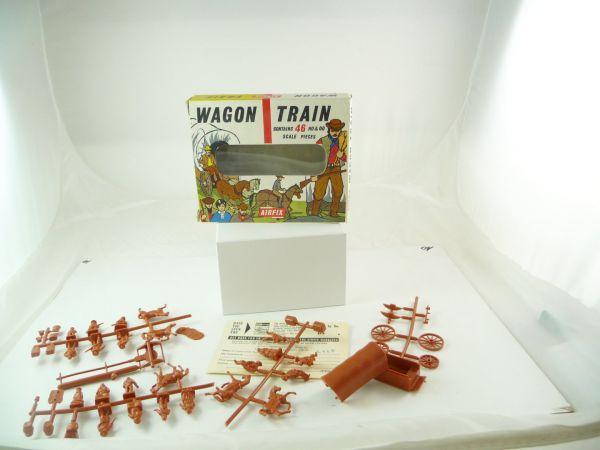 Airfix 1:72 Wagon Train - in Altbox, Figuren komplett + am Guss