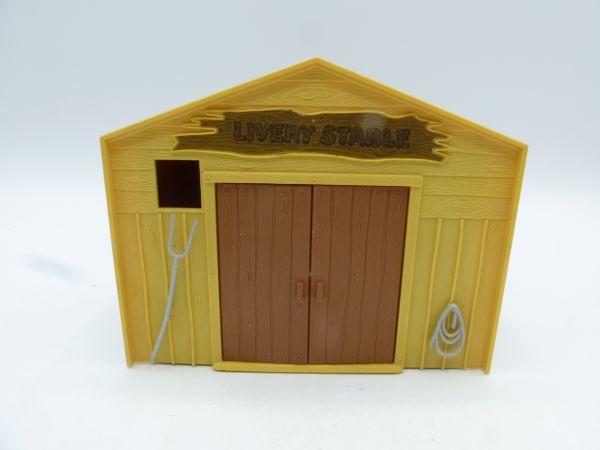 Timpo Toys Livery Stable, beige/braun - etwas bespielt, guter Zustand