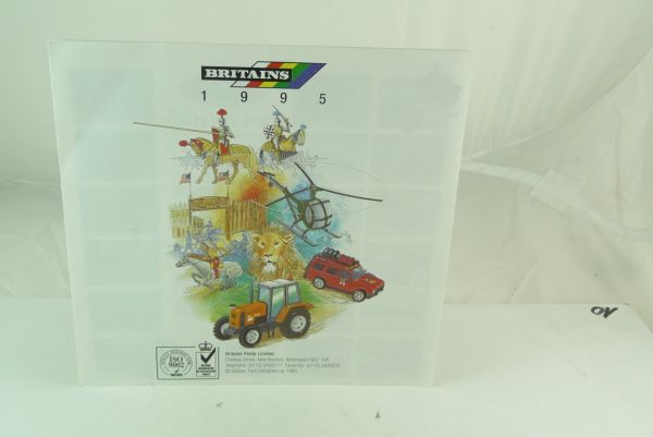 Britains Catalogue / leaflet of 1995 - many nice coloured illustrations