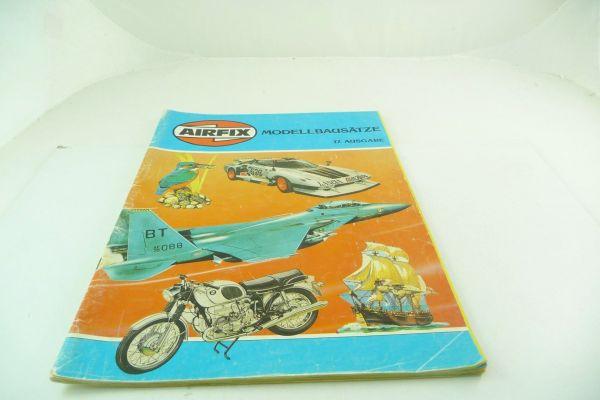 Airfix Katalog Modellbausätze 17. Ausgabe, 1979, 64 bunt bebilderte Seiten