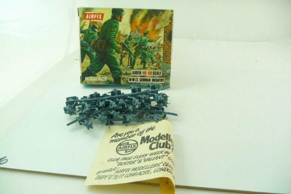 Airfix 1:72 WW II German Infantry S 5 - orig. packaging, blue box, figures complete