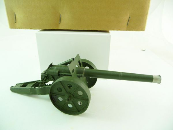 """Britains 4.7"""" Naval Gun - in great packing, condition see photos"""